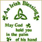 An Irish Blessing Embroidery Design Embroidery Design