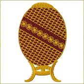 Faberge Egg Embroidery Design Embroidery Design