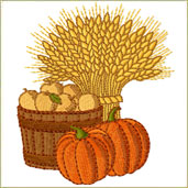 Harvest Embroidery Designs Embroidery Design
