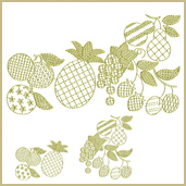 Kitchen Towels Motif Embroidery Design Embroidery Design