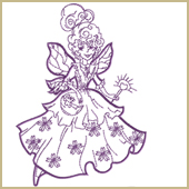 Tooth Fairy Embroidery Design Embroidery Design