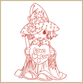 Wizard of Luv Embroidery Design Embroidery Design