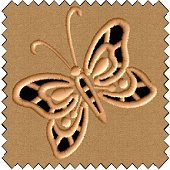 Butterfly Cutwork Embroidery Design
